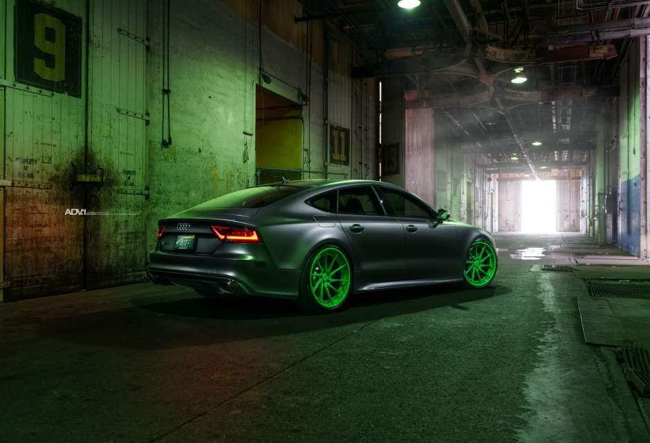 Adv Rs Matte Porsche Signal Green Directional Forged Wheels T W H Cw Ch Thumb