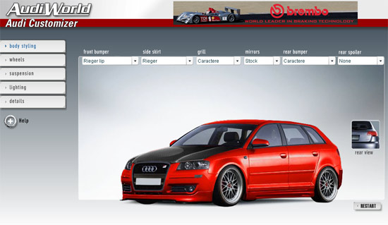 Audi A3 Tuning View