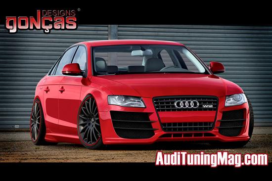 Audi A4 Tuning W12
