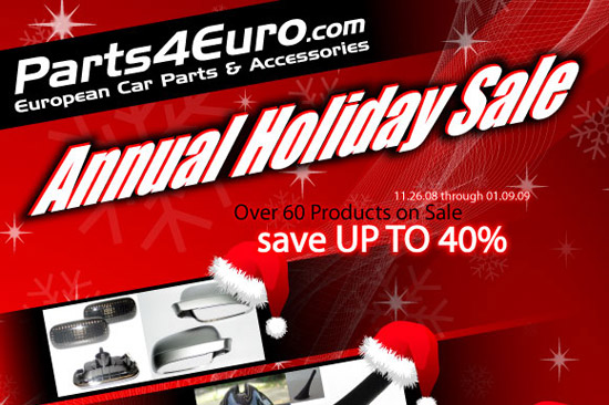 holiday sale car parts