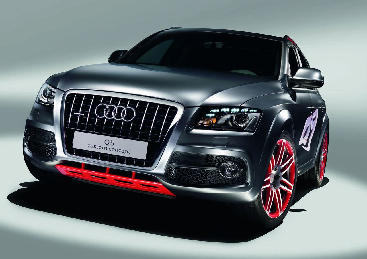 audi q5 custom concept. Black Bedroom Furniture Sets. Home Design Ideas