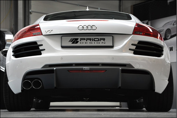 audi tt 8j by prior design. Black Bedroom Furniture Sets. Home Design Ideas