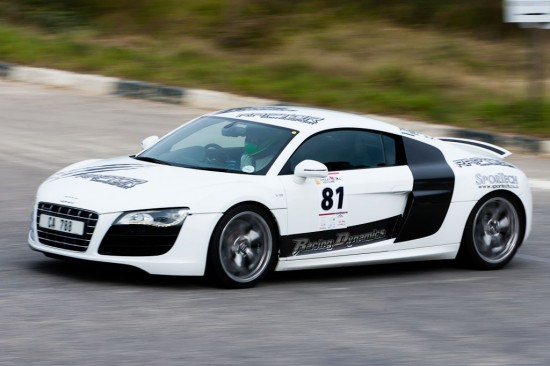 NU5V6542 550x366 RENM Audi R8 V10 competitive in Knysna Hillclimb race, South Africa