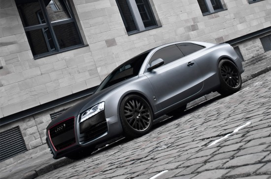 project kahn audi a5 coupe. Black Bedroom Furniture Sets. Home Design Ideas