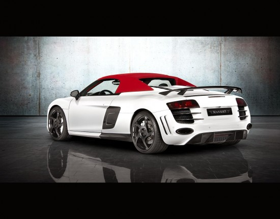 mansory audi r8 spyder 8 550x430 Mansory Audi R8 V10 Spyder