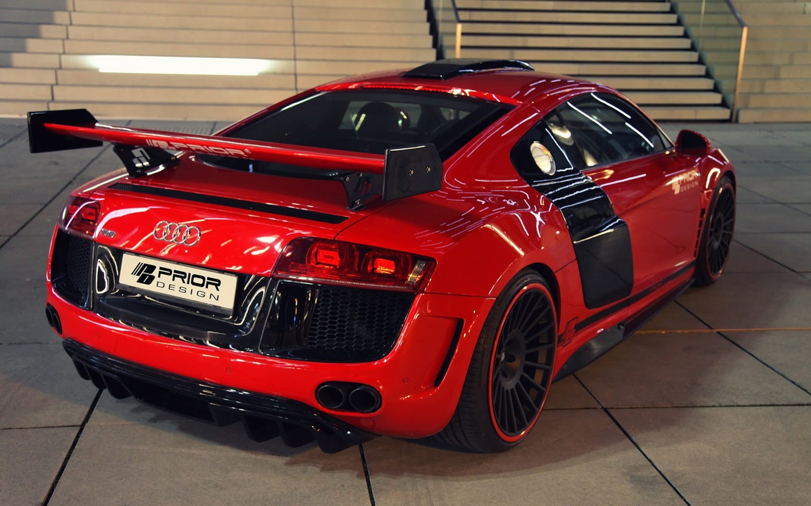 audi r8 gt650 by prior design 12 audi tuning mag. Black Bedroom Furniture Sets. Home Design Ideas