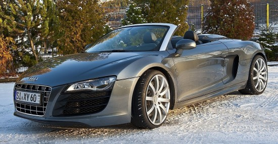 audi r8 v10 spyder tuned by bb 1 550x284 Audi R8 V10 Spyder by B&B