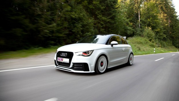 kw coilovers variant 3 for special edition model audi a1 quattro. Black Bedroom Furniture Sets. Home Design Ideas
