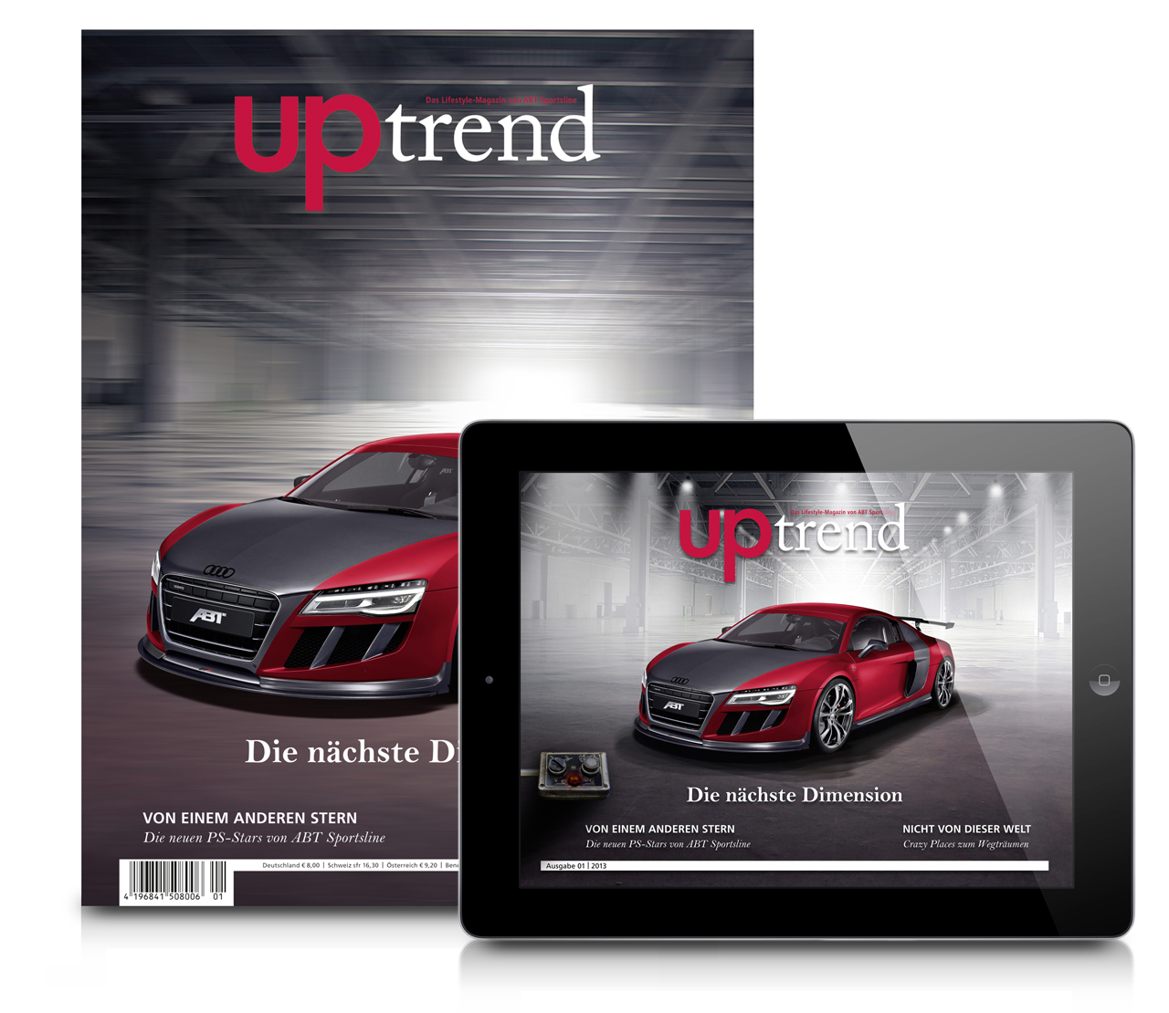 Uptrend For IPad The New Issue Of The ABT Lifestyle Magazine - Abt ipad