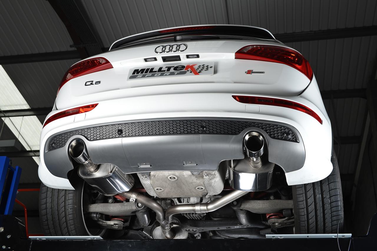 Milltek Launches Audi Q5 2.0 TFSi Performance Exhaust System