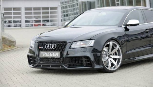 audi a5 sportsback by rieger tuning. Black Bedroom Furniture Sets. Home Design Ideas
