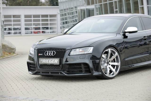 audi a5 sportback by rieger tuning 4 audi tuning mag. Black Bedroom Furniture Sets. Home Design Ideas