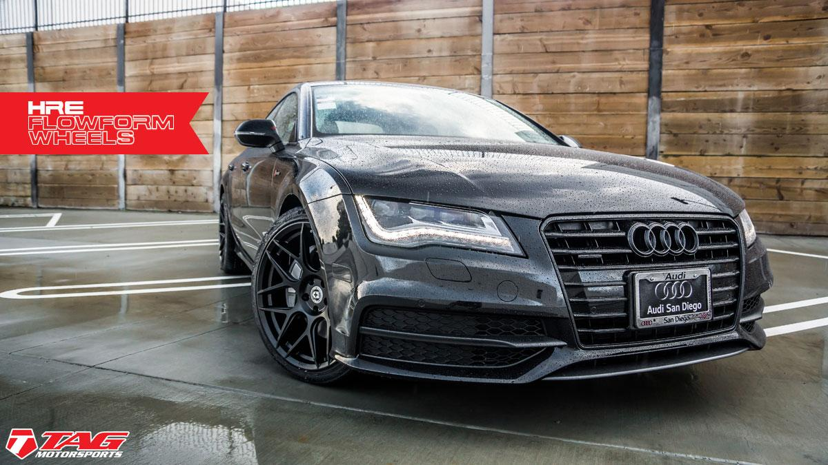 audi a7 blacked out. tagaudia7hre4 audi a7 blacked out