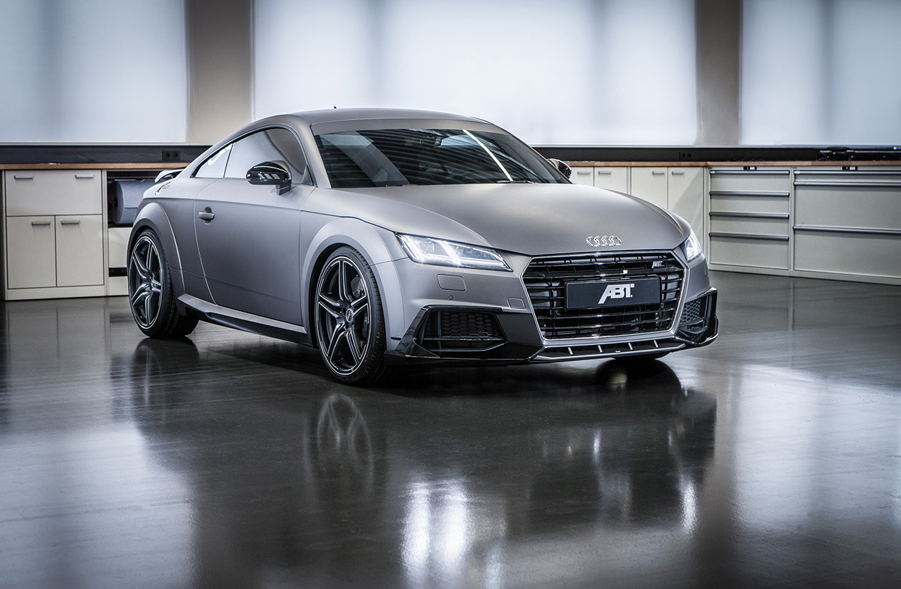 the new abt audi tt 8s. Black Bedroom Furniture Sets. Home Design Ideas
