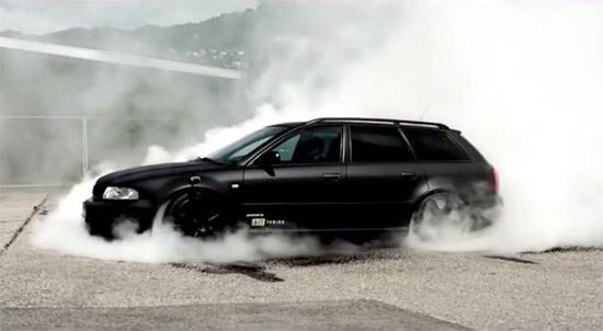 Audi RS4 B5 3.0l 720PS / 830Nm AWD Burnout