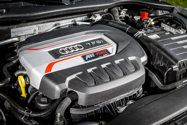 ABT TTS  Coupe  engine