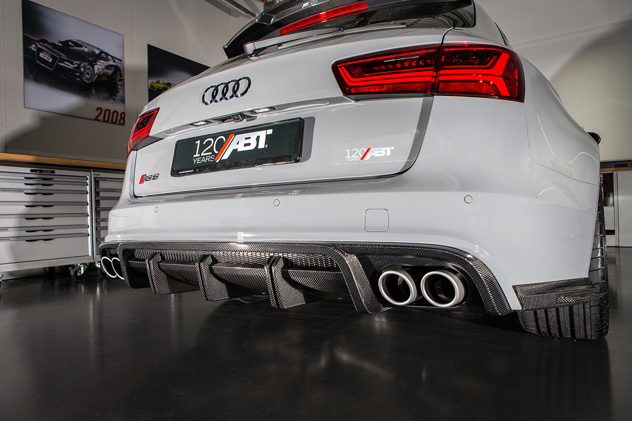 ABT RS6 1of12 carbon diffuser