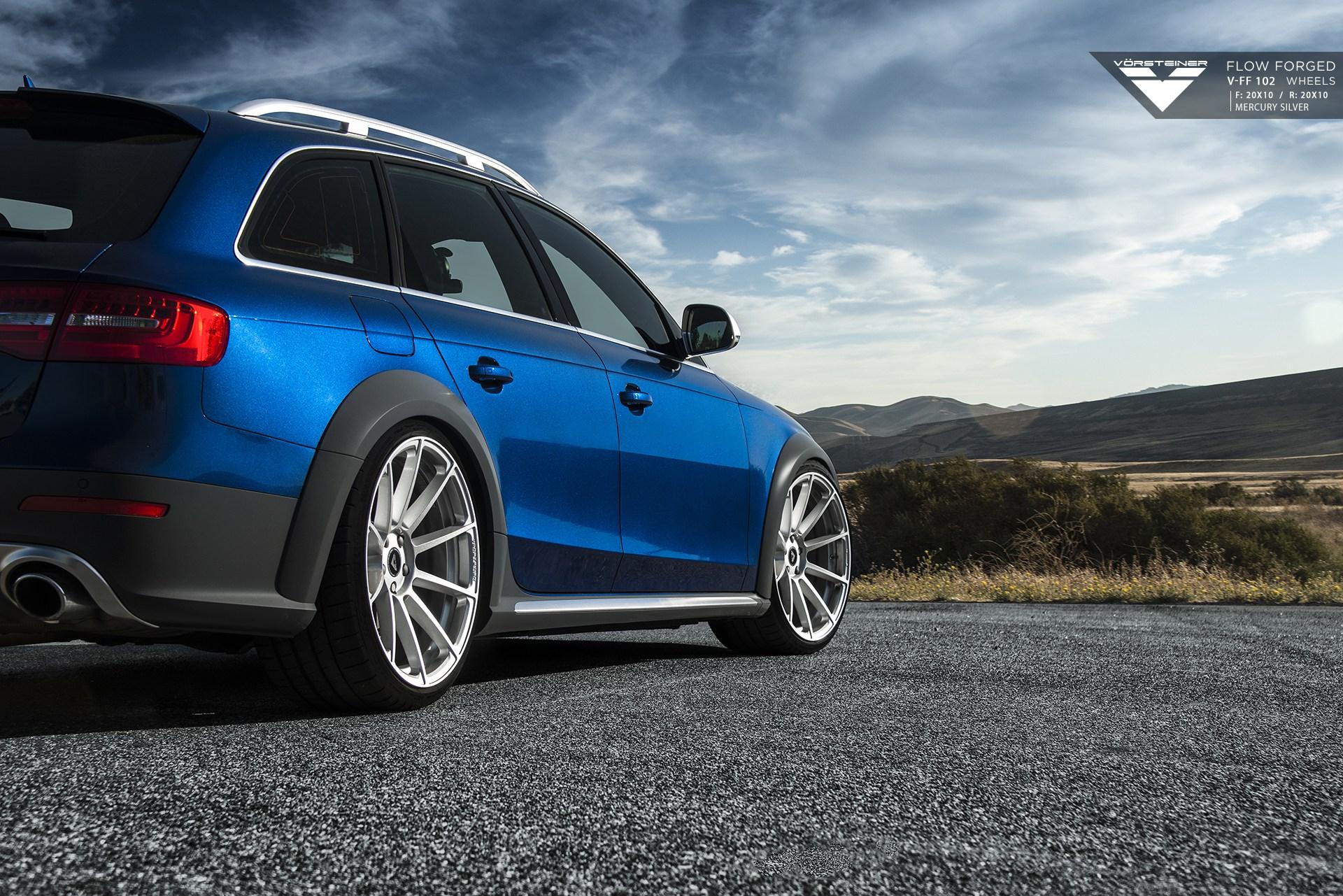 Audi A4 Aftermarket Wheels >> Audi Allroad On Vorsteiner V-FF 102 Flow Forged Wheels