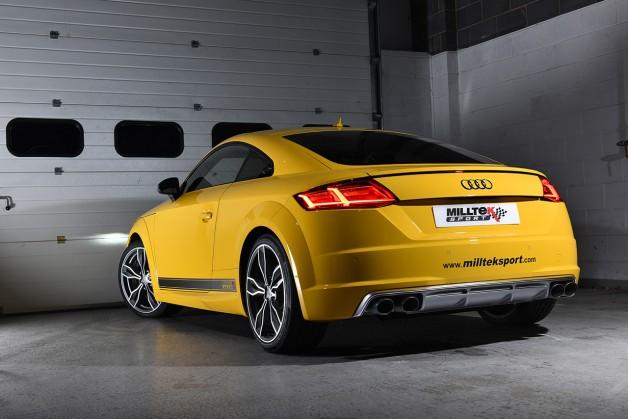 Audi tt 8s milltek