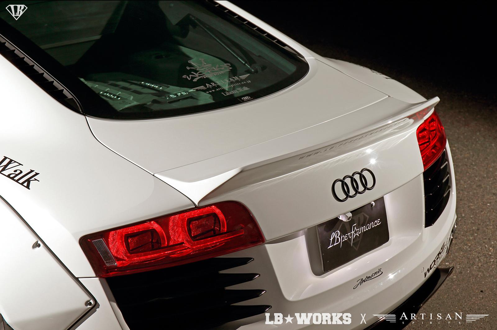 Liberty Walk Audi R Ducktail Spoiler