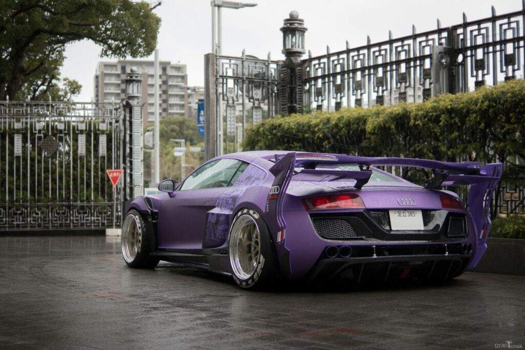 Audi r8 by garage ill for Garage audi hainaut
