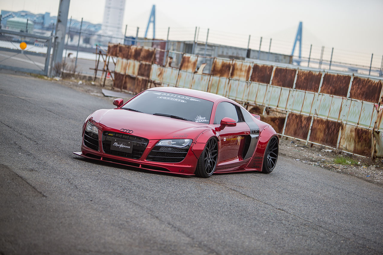 Liberty Walk Audi R8 Prices europe