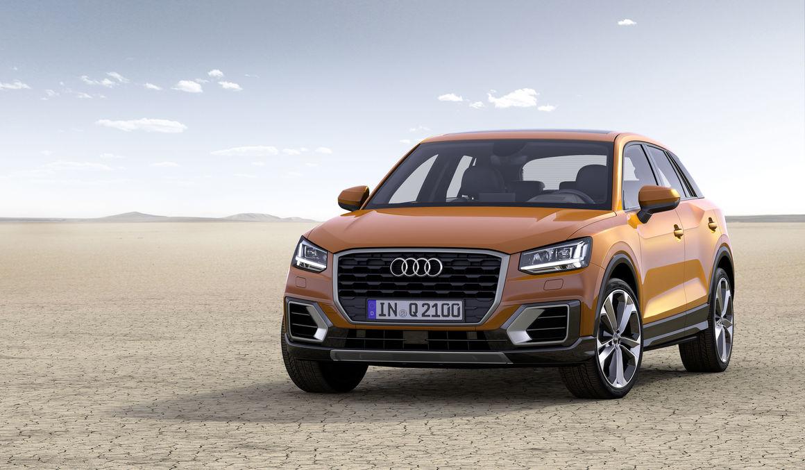 the new Audi Q2