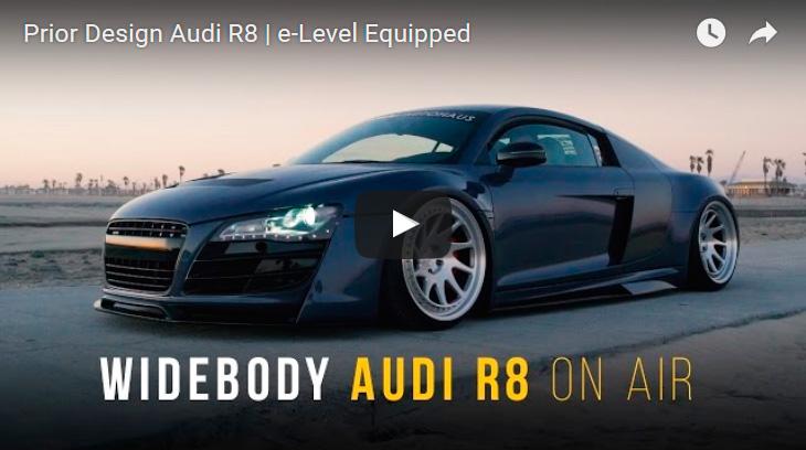 Prior Design Audi R8 | e-Level Equipped