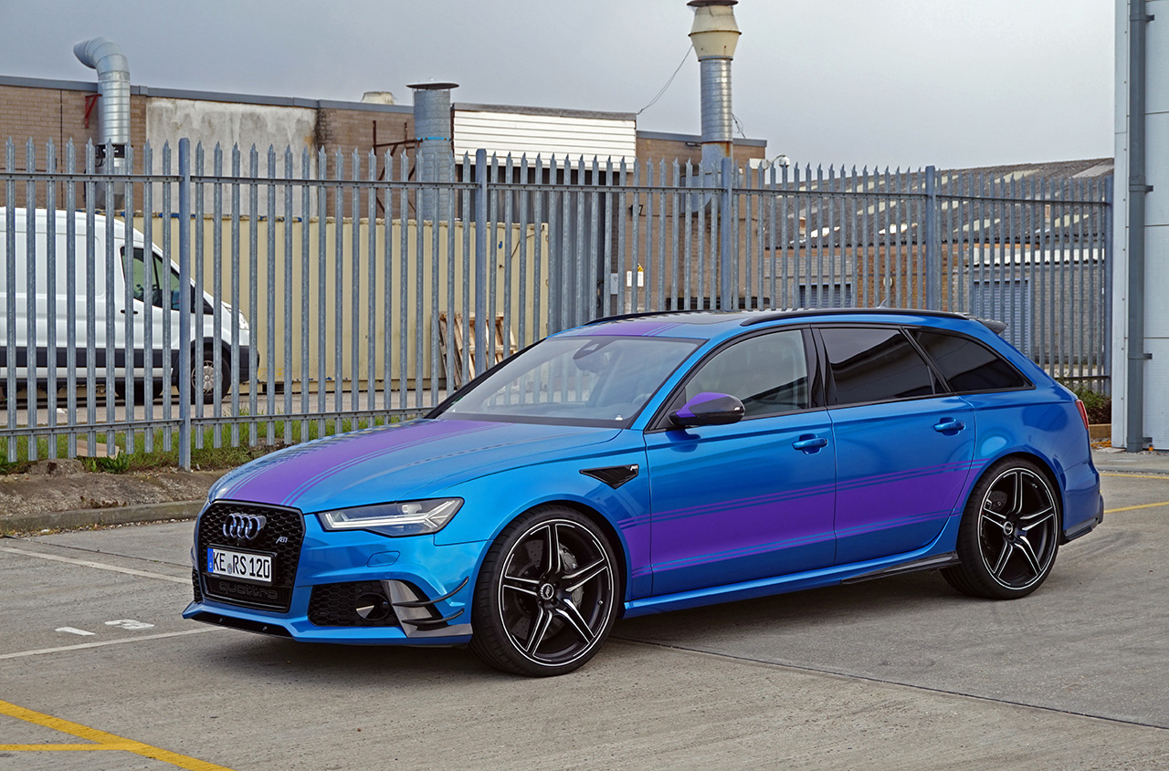 ABT RS6 Gumball