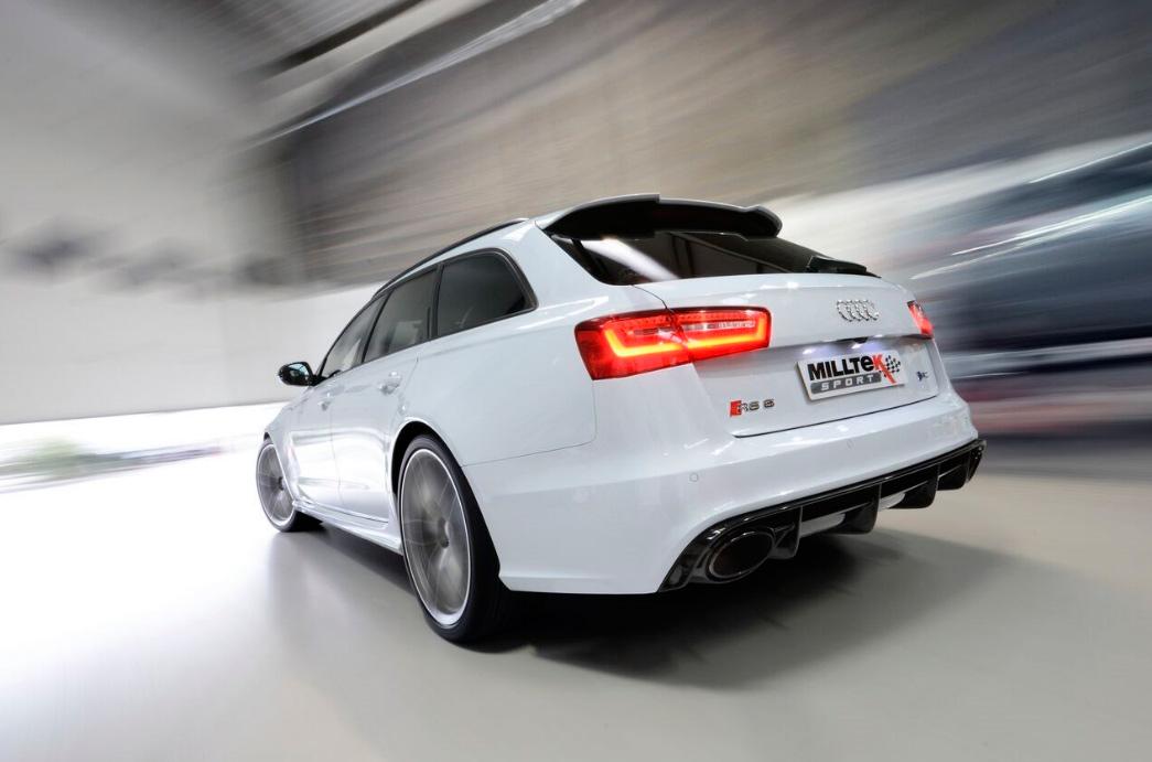 Milltek Audi RS6/RS7 4.0 TFSI Twin Turbo Exhaust System
