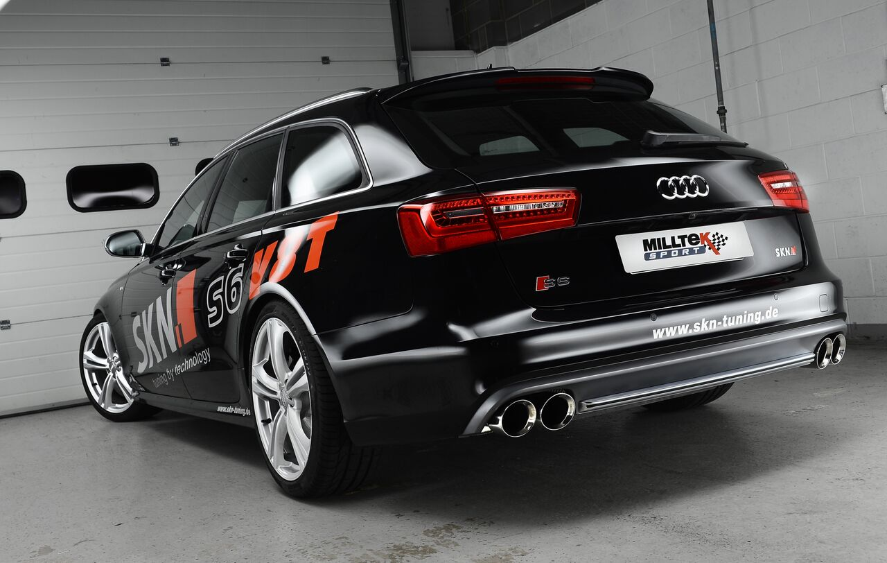 Milltek Audi S6 4 0 V8 C7 Twin Turbo System