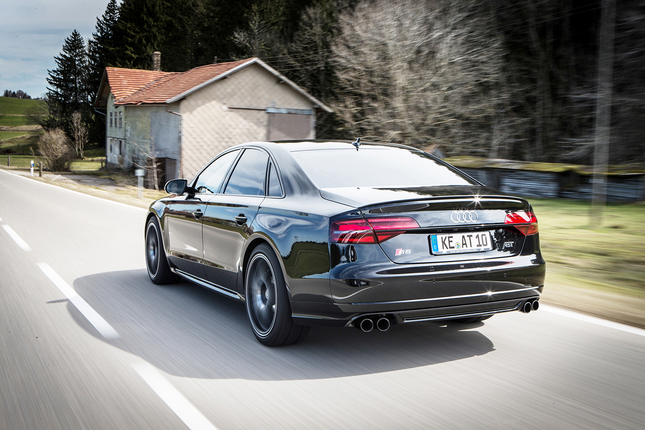 The ABT S8 Plus – a premium car with up to 735 hp and 920 Nm