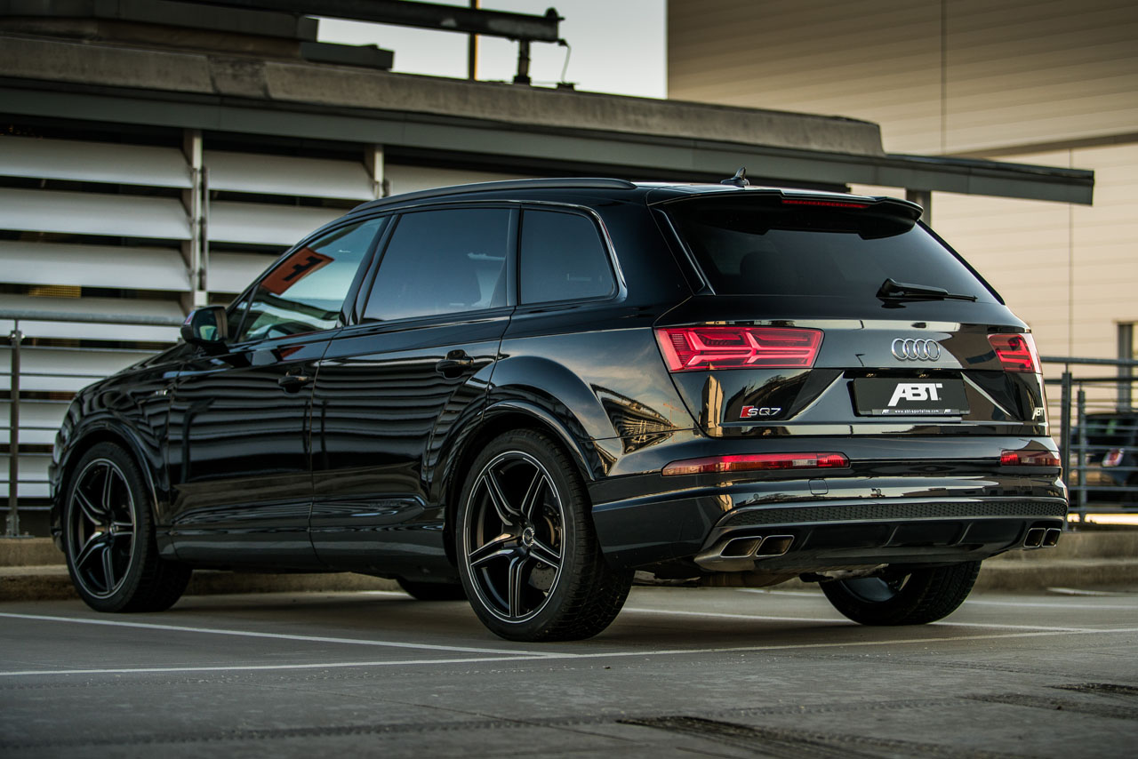 the new ABT SQ7 with 520 hp and 970 Nm