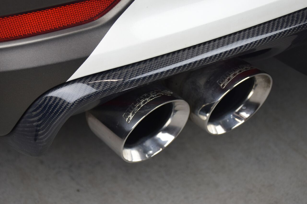 Audi S3 awesome rear diffuser