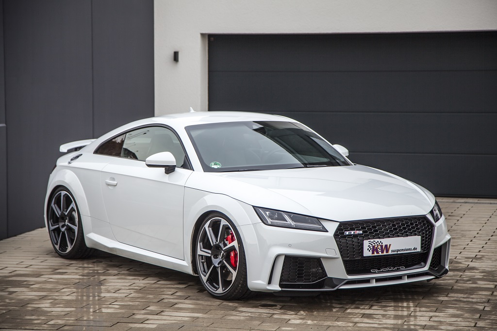 KW Variant 3 and KW Clubsport coilovers now available for Audi TT RS
