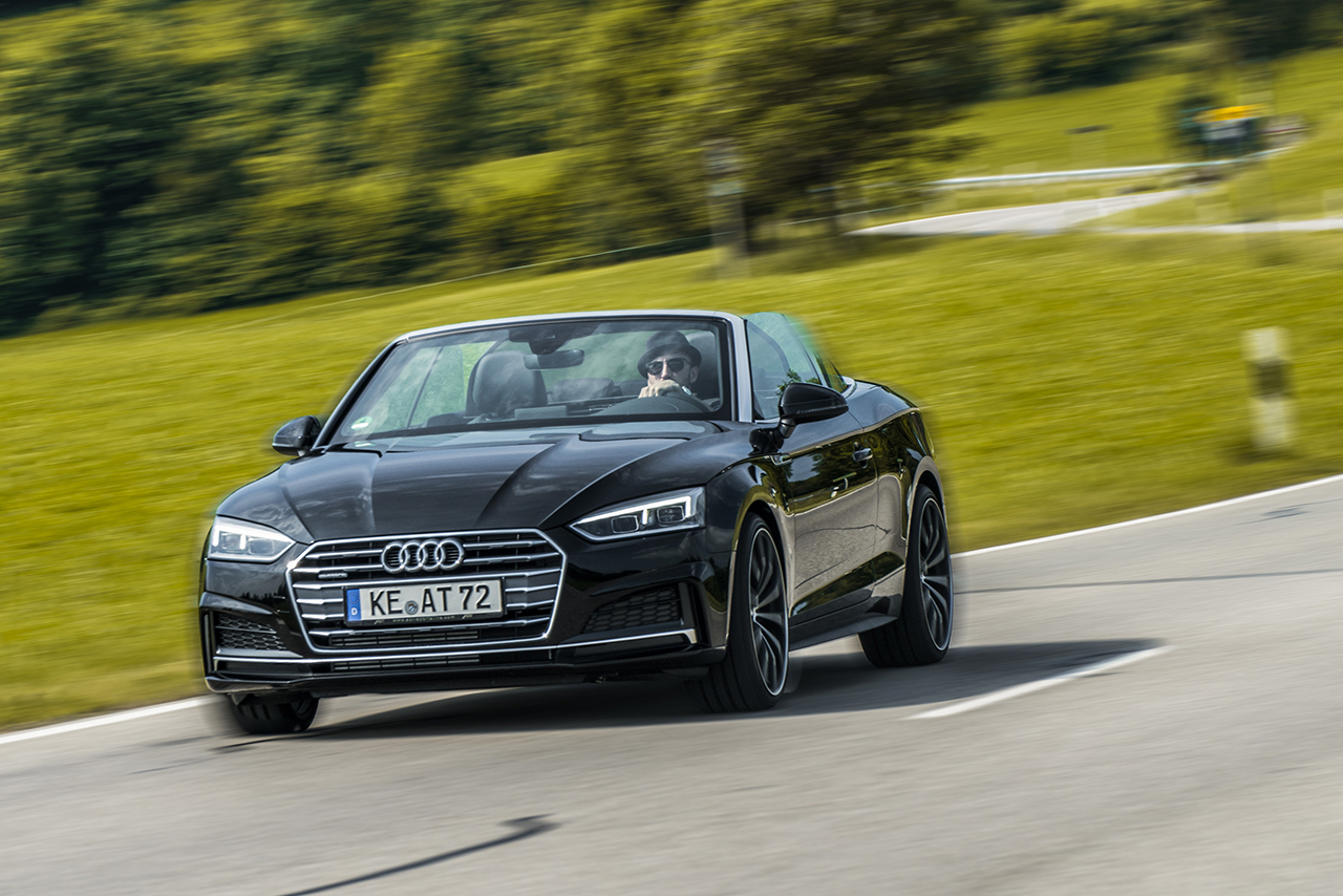 ABT boosts the A5 cabriolet to reach up to 330 HP