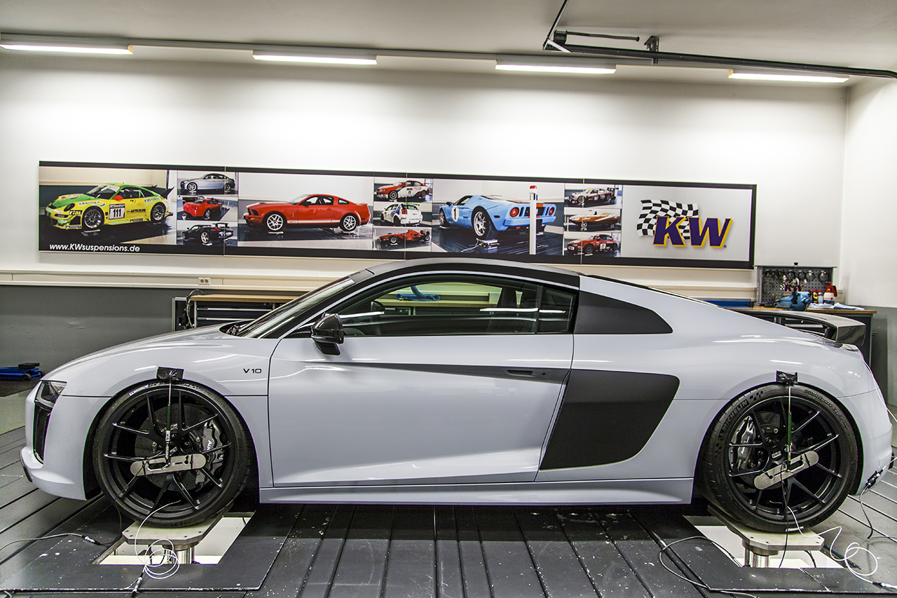 KW Expands Range Of Innovative Height Adjustable Spring (HAS) Kits To Include New Mk2 Audi R8