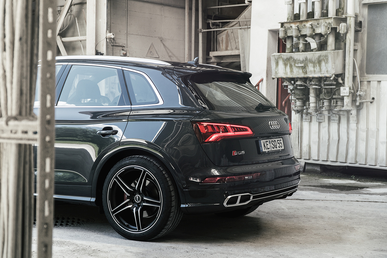 A great athlete with gasoline in its blood: the ABT SQ5 with 425 hp and 550 Nm