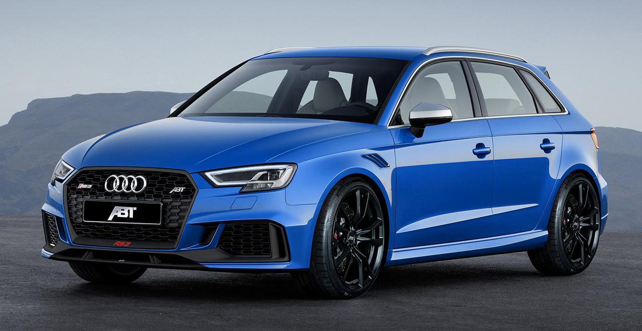 ABT makes Audi RS 3 even sportier